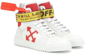 Off-White Off White Exclusive to Mytheresa Industrial leather sneakers