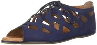 Gentle Souls by Kenneth Cole Women's Betsi Flat Lace-up Sandal Sandal