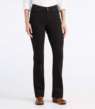L.L. Bean L.L.Bean True Shape Jeans, Favorite Fit Boot-Cut