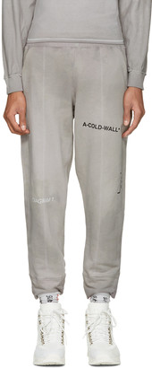 A-Cold-Wall* Reversible Grey The Meeting Seamline Track Pants $240 thestylecure.com