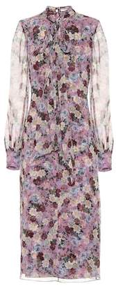 Erdem Danielle floral-printed silk dress