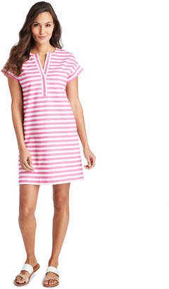 Vineyard Vines Knit Stripe Swing Dress
