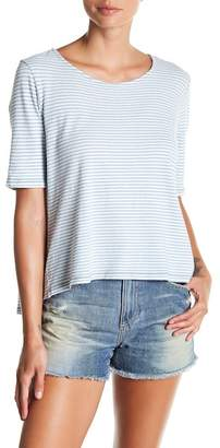 AG Jeans Short Sleeve Striped Tee