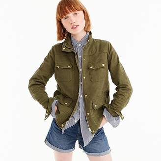 J.Crew Tall uncoated downtown field jacket