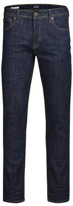 "Jack and Jones Tim Original Straight Leg Jeans - 30-34"" Inseam"