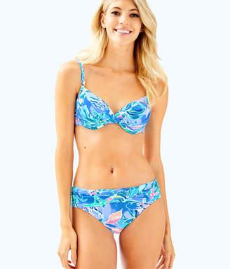Lilly Pulitzer Womens Blossom Underwire Bikini Top