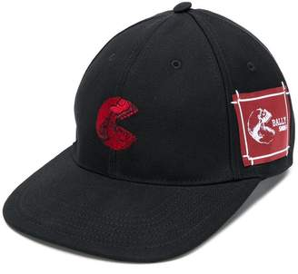Bally skull patch cap