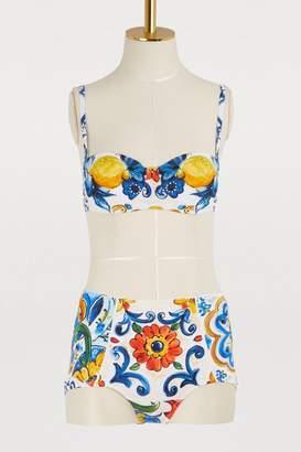 Dolce & Gabbana Maiolica bikini