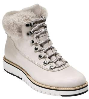 Cole Haan GrandExpl?re Genuine Shearling Trim Waterproof Hiker Boot