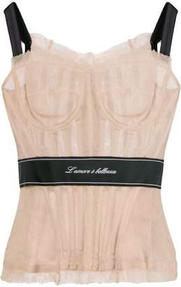 Dolce & Gabbana corset top