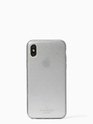 Kate Spade Glitter ombre iphone x case