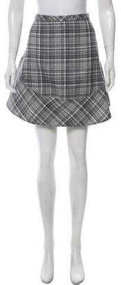 Marc Jacobs Plaid Tweed Skirt w/ Tags
