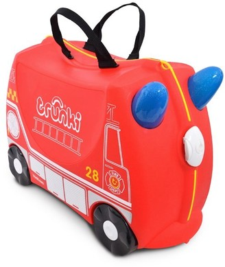 Trunki Ride-on Suitcase, Fire Engine Frank