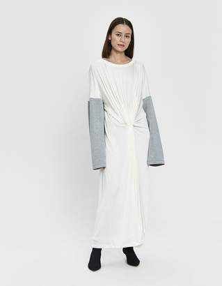MM6 MAISON MARGIELA Jersey Drape Dress