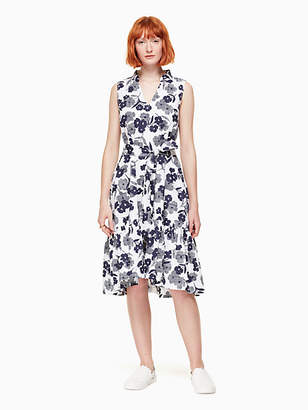 Kate Spade Shadows poplin dress