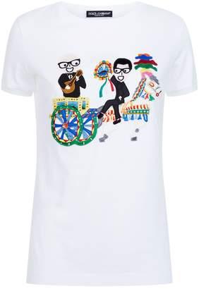 Dolce & Gabbana Family Patch T-Shirt
