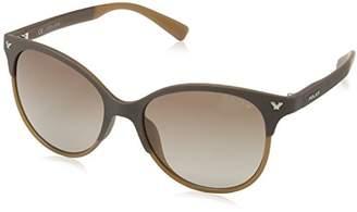 Police Sunglasses Women's SPL187 Game 11 Butterfly Polarized Sunglasses