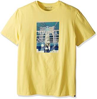 Nautica Men's Big and Tall Big & Tall Short Sleeve Graphic T-Shirt