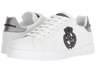 Dolce & Gabbana Embroidered Crown Sneaker
