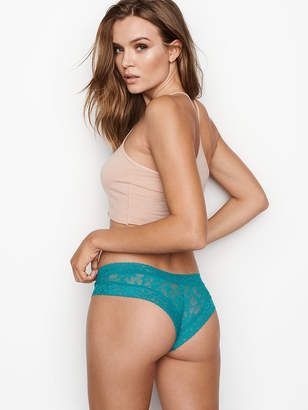 Victoria's Secret The Lacie Floral Lace Cheeky Panty