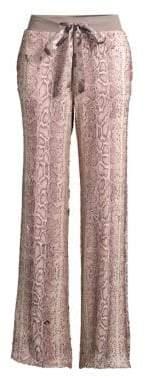 Ramy Brook Cyrus Sequin Snakeskin Pants