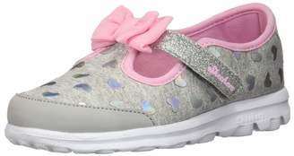 Skechers Girl's GO Walk- Bitty Hearts Shoe