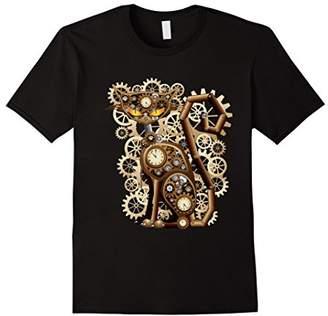 Steampunk Vintage Clockwork Cat T-Shirt