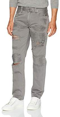True Religion Men's Geno Slim Straight Twill