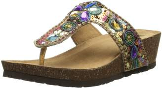 White Mountain Women's Brightspot Wedge Sandal