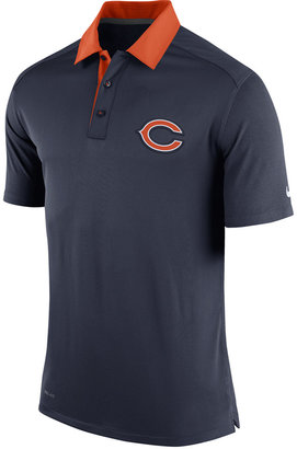 Nike Men's Chicago Bears Elite Coaches Polo $80 thestylecure.com