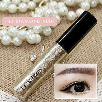 Factory Beauties Shiny Glitter Liquid Eyeliner Eye Highlight Party Home Makeup in Seconds