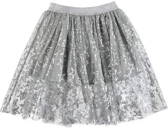 Stella McCartney Metallic Stars A-Line Skirt Size 4-14