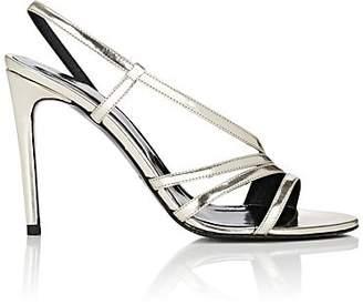 Barneys New York Women's Leather Slingback Sandals - Gold