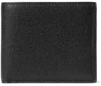 c4ea244caad Valextra Pebble-Grain Leather Billfold Wallet
