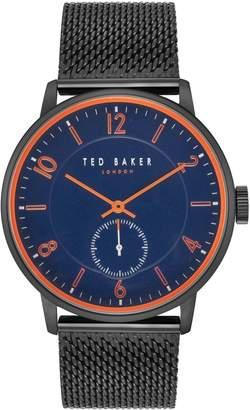 Ted Baker Owen Stainless Steel Mesh Bracelet Watch