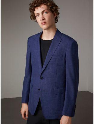 Burberry Modern Fit Wool Silk Linen Tailored Half-canvas Jacket $1,395 thestylecure.com