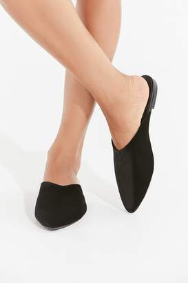 Urban Outfitters Pointed Velvet Mule
