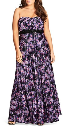 City Chic Helena Printed Maxi Dress $149 thestylecure.com