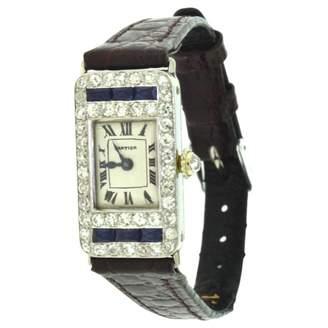 Cartier Platinum watch