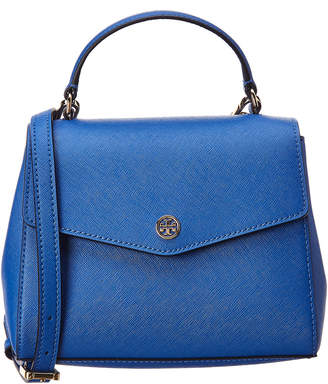 Tory Burch Robinson Small Top Handle Leather Satchel