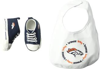 Baby Fanatic Bib with Pre-Walkers, Denver Broncos