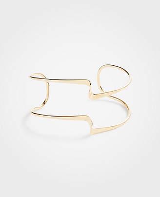 Ann Taylor Sculptural Cuff Bracelet