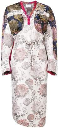 Reality Studio floral print midi dress