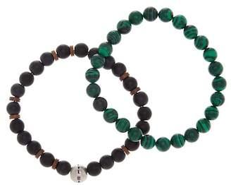 Steve Madden Matte Bead Bracelet - Set of 2