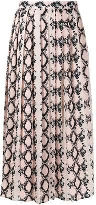 Sly 010 Sly010 snakeskin effect skirt