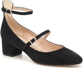 7e7f98f5c613 Black And Gold Suede Pumps - ShopStyle