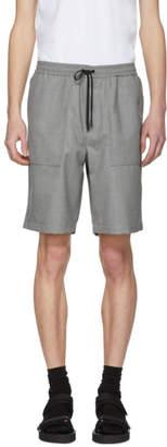 Ami Alexandre Mattiussi Grey Bermuda Shorts