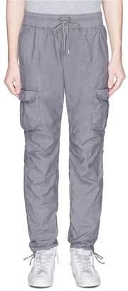 John Elliott Washed poplin cargo pants