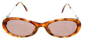 Gianni Versace Tortoiseshell Tinted Sunglasses