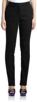 Lanvin Trouser-Cut Skinny Jeans